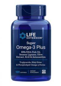 Super Omega-3 Plus EPA/DHA Fish Oil, Sesame Lignans, Olive Extract, Krill & Astaxanthin