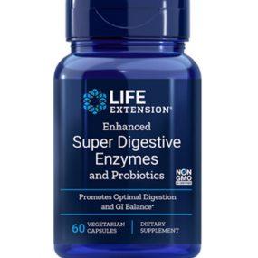 Enhanced Super Digestive Enzymes and Probiotics