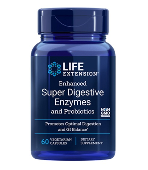 Enhanced Super Digestive Enzymes and Probiotics